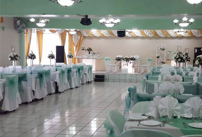 SEDES DISPONIBLES PARA EVENTOS SOCIALES